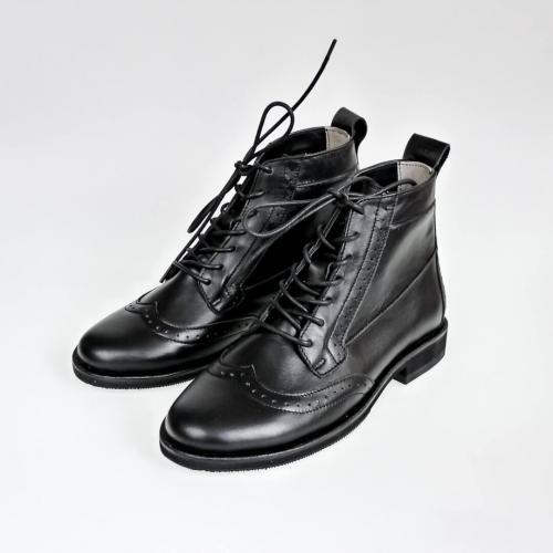 Женские ботинки броги Isadora All Black