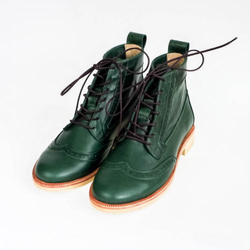 Женские ботинки броги Isadora Emerald