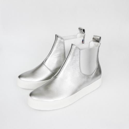 Женские ботинки Chelsea #4 Argentum