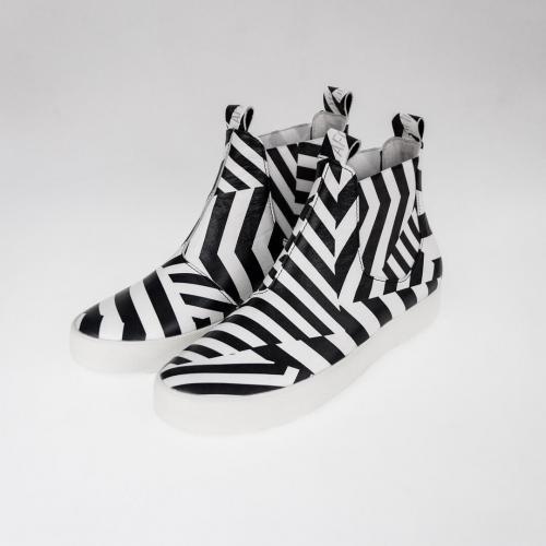 Женские ботинки Chelsea #4 Dazzle