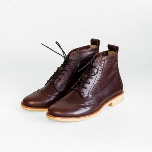 Женские ботинки броги Isadora Browny