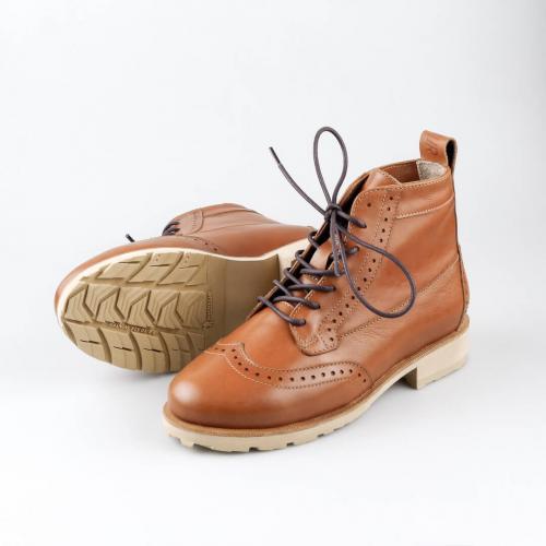 Зимние женские ботинки броги Isadora Foxy