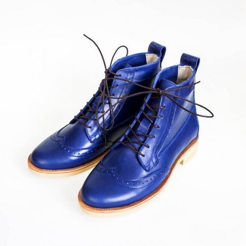 Зимние женские ботинки броги Isadora Saphir