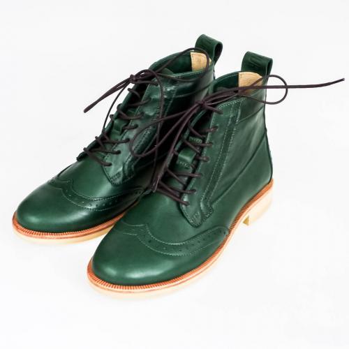 Зимние женские ботинки броги Isadora Emerald