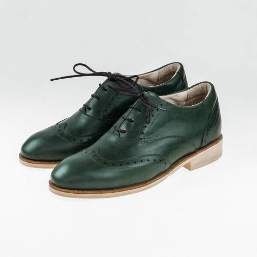 Классические мужские ботинки Brogue №1 Emerald
