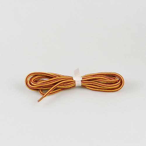 Шнурки для ботинок Hiker - 145 см - желтые с красным