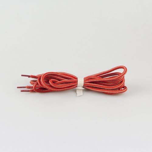 Шнурки для ботинок Hiker - 145 см - бежевые с красным