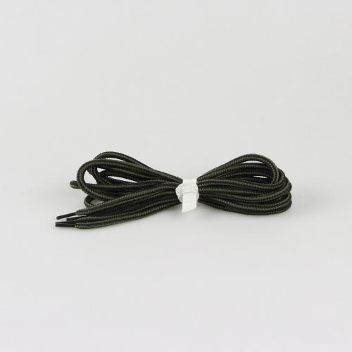 Шнурки для ботинок Hiker - 145 см - черные с баллистическим