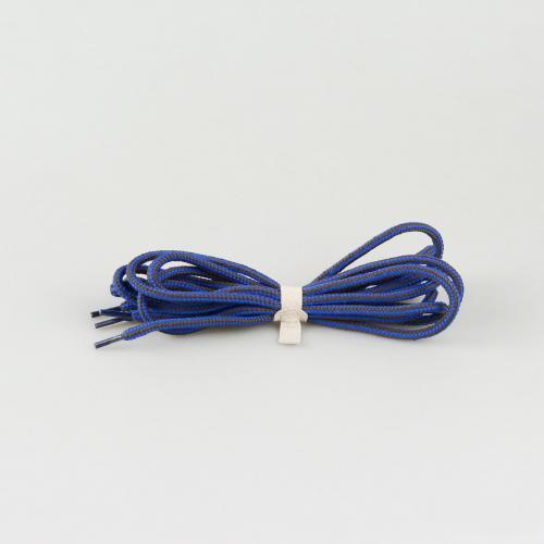 Шнурки для ботинок Hiker - 145 см - синие с баллистическим