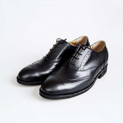 Классические мужские ботинки Brogue №1 All Black