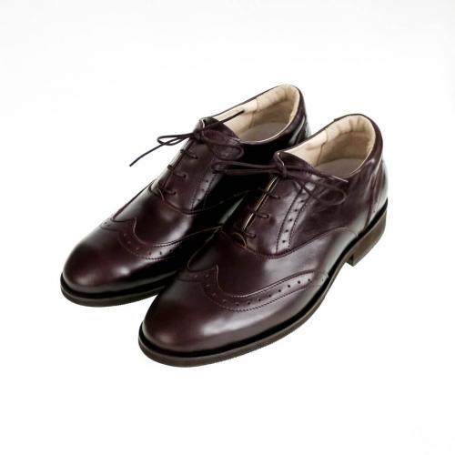 Классические мужские ботинки Brogue №1 Mocco