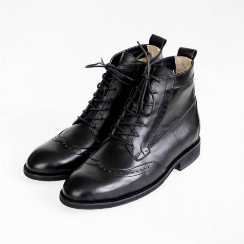 Зимние мужские ботинки Hi Brogue №1 All Black