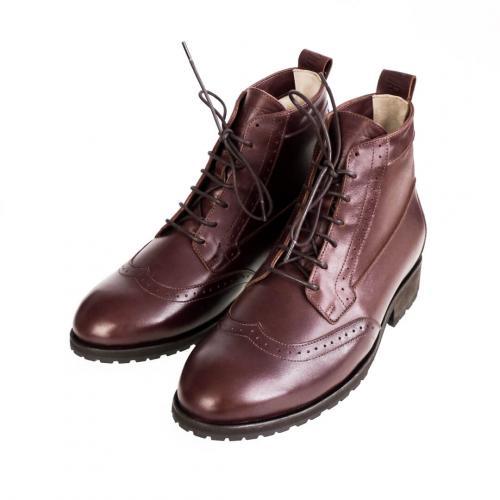 Зимние мужские ботинки Hi Brogue №1 Browny