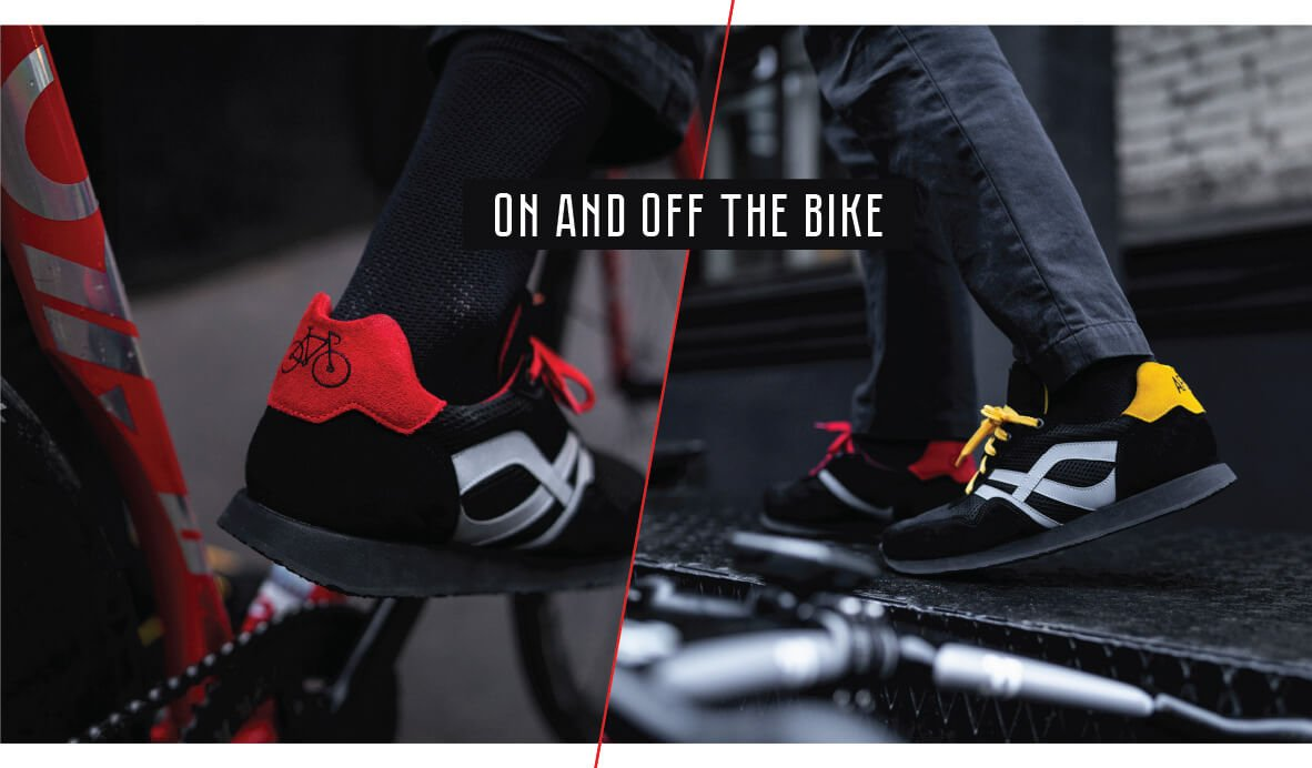 Clipless Cycling shoes - style and comfort for cycling and walking