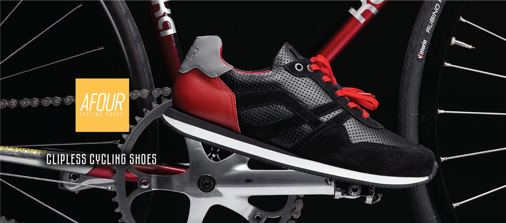 SPD Clipless Cycling Shoes - AFOUR