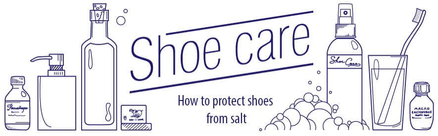 How to protect shoes from salt and reagents