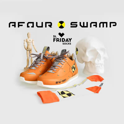 AFOUR x SWAMP x St. Friday Socks