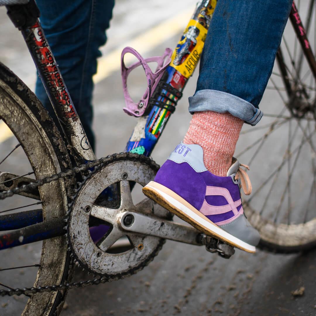 Велокроссовки с SPD в индивидуальном дизайне для Саши Песта