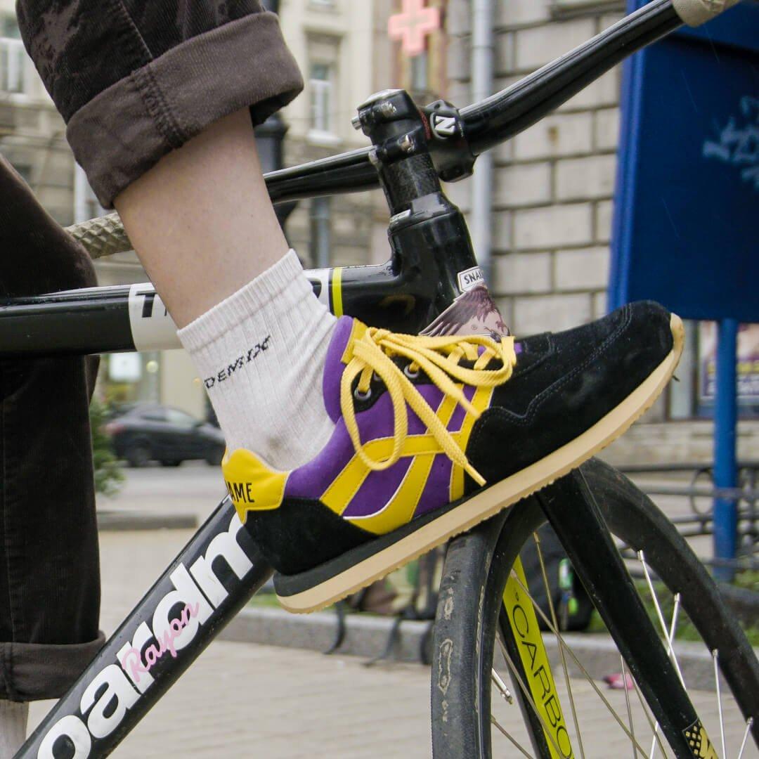 Велокроссовки в индивидуальном дизайне для Антона Bentframe